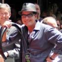 Charlie Sheen Supports Slash At Walk Of Fame Ceremony