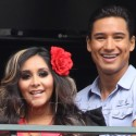 Snooki Hangs Out With Mario Lopez At The Grove