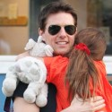 Tom Cruise Spends The Day With Daughter Suri