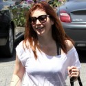 Alyson Hannigan Takes Her Tot For Tea