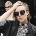 Chloe Sevigny Sports Half-Shaved 'Do