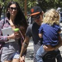 Pete Wentz And His Girlfriend Meagan Camper Spend The Day With Bronx