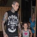 Travis Barker And Shanna Moakler Take The Kids To Matsuhisa