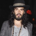 Russell Brand Dines At Dominick's