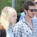 Emma Stone And Andrew Garfield Shop In Malibu