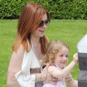 Alyson Hannigan And Her Darling Daughter Satyana