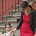 Katie Holmes And Suri Cruise Have A Mommy Daughter Movie Date