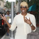 Nene Leakes Gets Her Nails Done In Beverly Hills