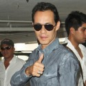 Marc Anthony Gives A Thumps Up In Miami