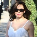 Rose McGowan Is White Hot In Beverly Hills