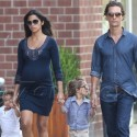 Matthew McConaughey And His Family Step Out In The Big Apple
