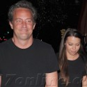 Matthew Perry Brings A Date To The Coral Tree Cafe
