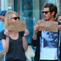 Emma Stone And Andrew Garfield Promote Worldwide Orphans Foundation