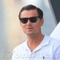 Leonardo DiCaprio Filming <em>The Wolf Of Wall Street</em>