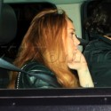 Lindsay Lohan Gets A Driver In NYC