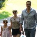 Michelle Williams And Jason Segel Take Matilda To The Zoo