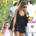 Nicole Richie Takes Her Kids To A Themed Birthday Party