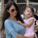 Oksana Grigorieva Takes Daughter Lucia To Dance Class