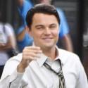 Leonardo DiCaprio Looks Dapper Filming <em>The Wolf of Wall Street </em>