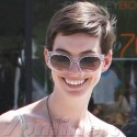 Anne Hathaway Grabs Coffee On Melrose