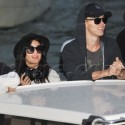 Vanessa Hudgens And Boyfriend Austin Butler Arrive At Venice Hotel With Pal Ashley Benson