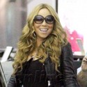 Mariah Carey Struts Through The Airport