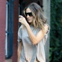 Sarah Jessica Parker Leaves Her Apartment In NYC