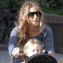 Sarah Jessica Parker Takes Her Twins Out In NYC