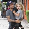 Pete Wentz Runs Errands With Little Bronx In Studio City