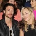 Sharon Stone And Boyfriend Attend Fendi Fashion Show