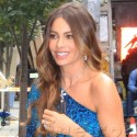 Sofia Vergara Rocks Sexy Blue Dress