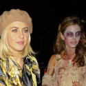 Derek Hough And Sister Julianne Join Maria Menounos For A Halloween Party