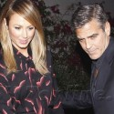 George Clooney And Stacy Keibler Dine In Beverly Hills