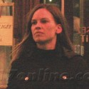 Hilary Swank Hangs Out In Paris