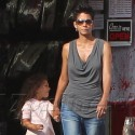 Halle Berry And Nahla Go Costume Shopping