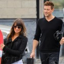 Lea Michele And Cory Monteith Grab Some Snowboards