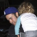 Pete Wentz Hangs Out With Bronx And His Girlfriend In LA