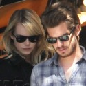 Emma Stone And Boyfriend Andrew Garfield Shop At Book Soup