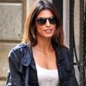 Elisabetta Canalis Goes Shopping In Milan