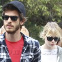 Emma Stone And Andrew Garfield Take It Easy