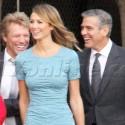 George Clooney And Stacy Keibler Shoot Down Split Rumors