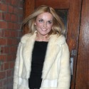 Geri Halliwell Arrives At Palaces Theater