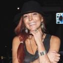 Lindsay Lohan Smiles For The Cameras