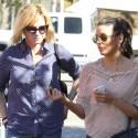 Eva Longoria And Melanie Griffith Go For Lunch