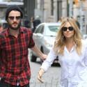 Sienna Miller And Tom Sturridge Arrive At Their Hotel