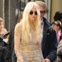 Taylor Momsen Glams It Up On Gossip Girl Set