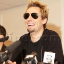 Nickelback Holds A Press Conference In Russia