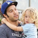 Pete Wentz Gets A Little Help From Son Bronx