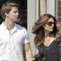 Maria Shriver And Her Son Get Lunch In Santa Monica