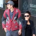 Ashton Kutcher And Mila Kunis Do Lunch In Studio City